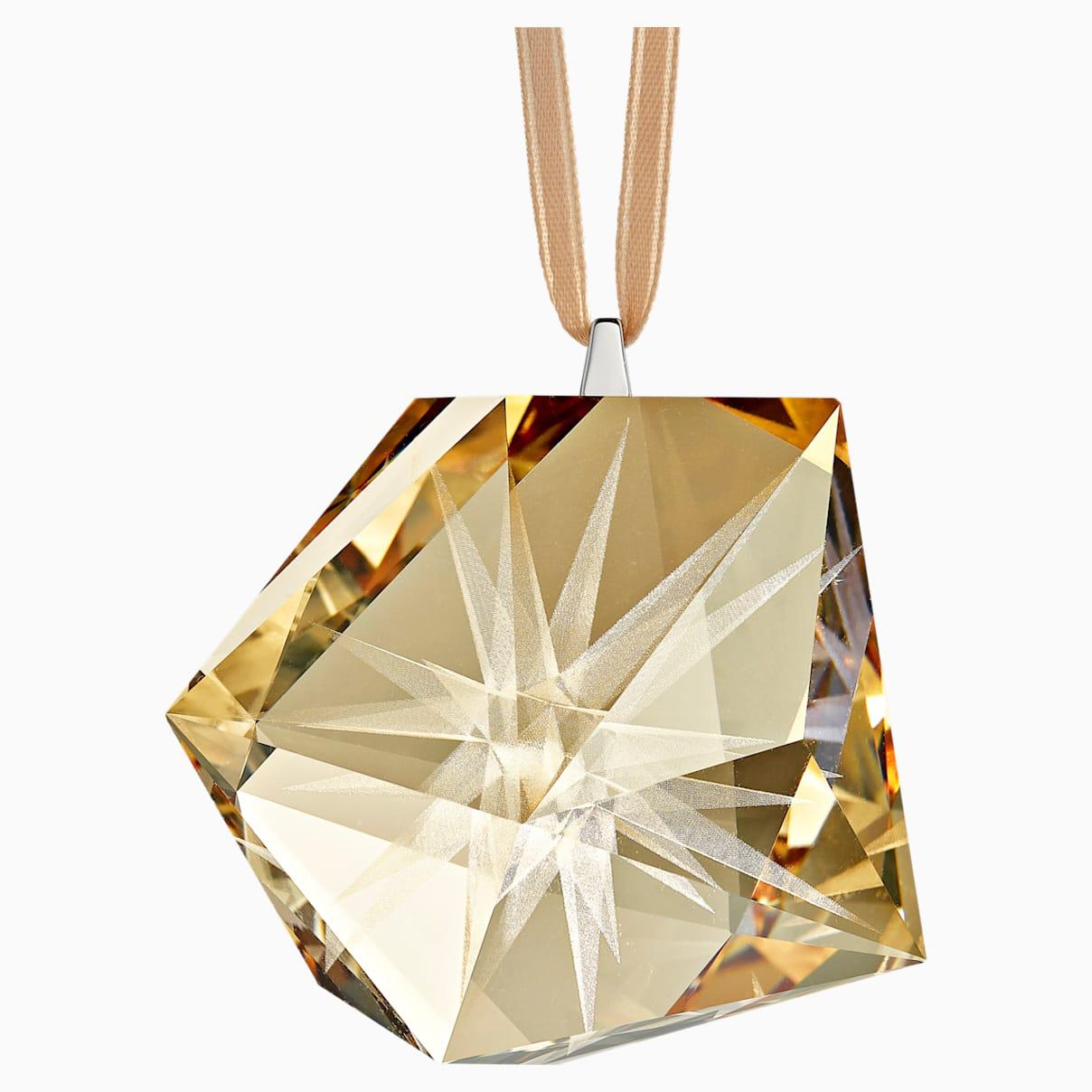 Décoration Étoile daniel libeskind frosted doré