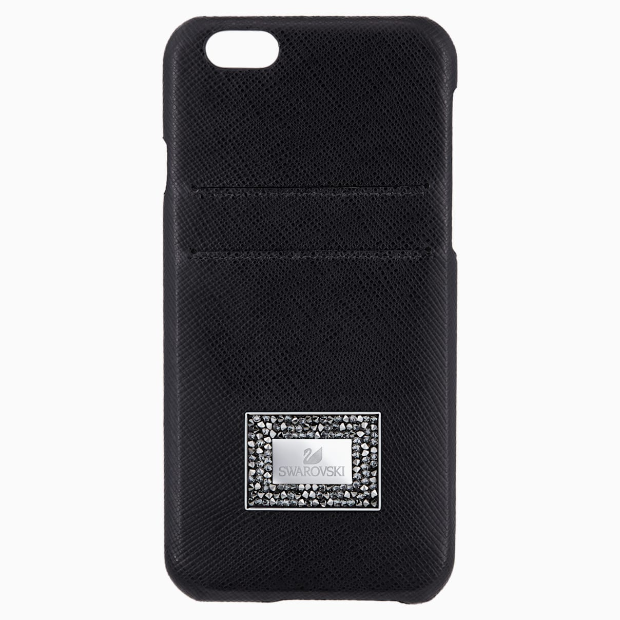 Custodia smartphone con bordi protettivi Versatile, iPhone® 6 Plus / 6s Plus, Nero