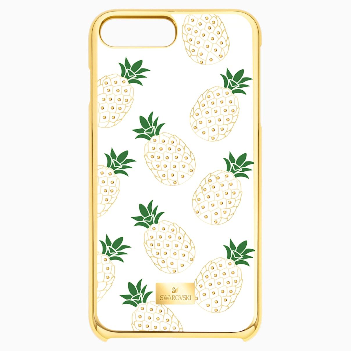 Custodia smartphone con bordi protettivi Lime, iPhone® 8 Plus, transparente