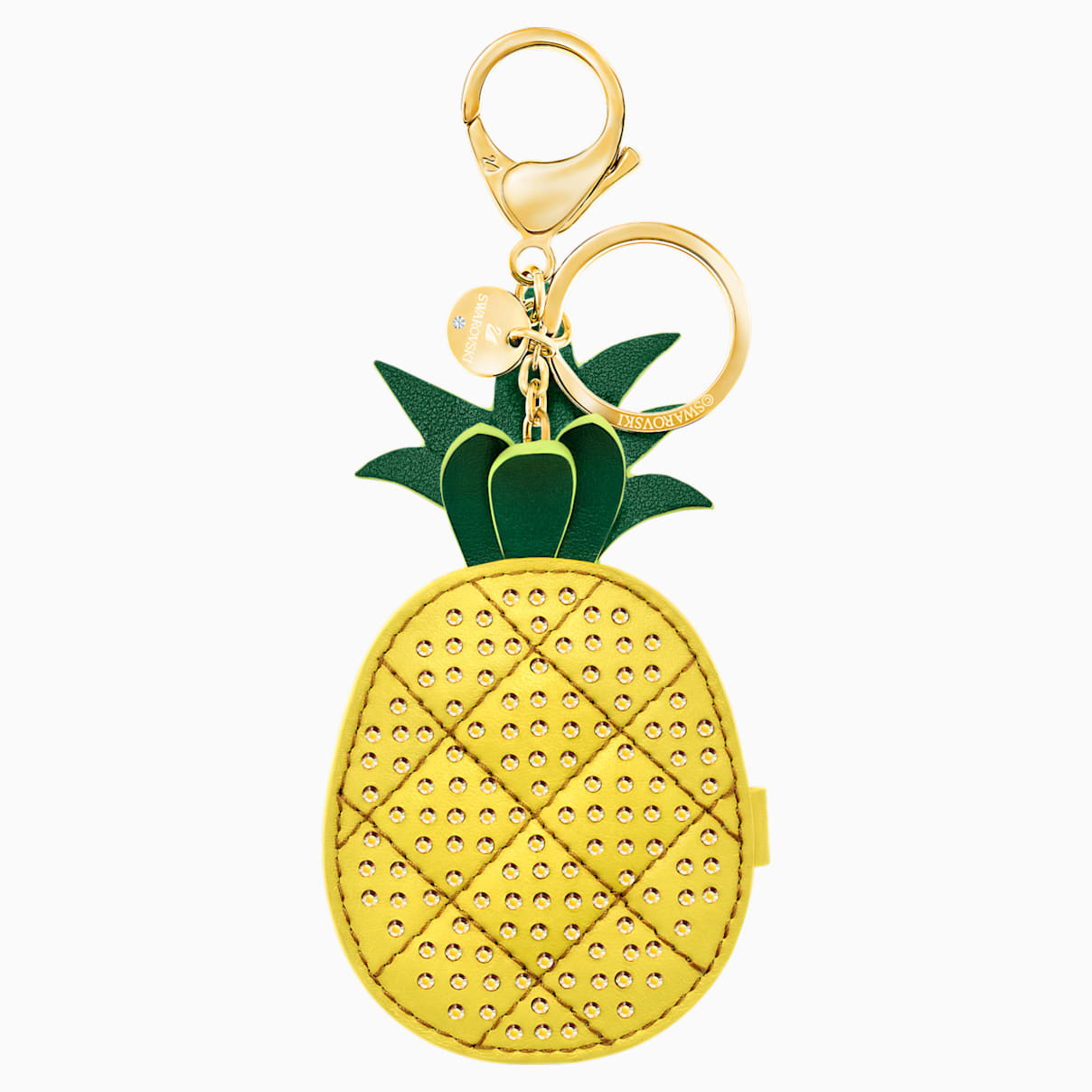 Accessorio per borse Lime, giallo, placcatura oro