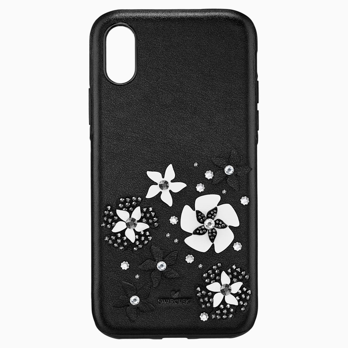 Custodia smartphone con bordi protettivi integrati Mazy,iPhone® X/XS, nero