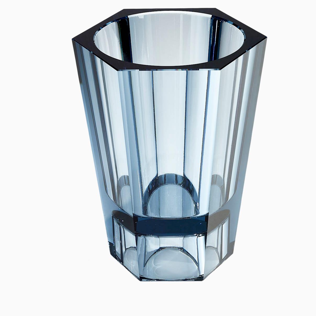 Vaso reversibile Lumen, grande, blu