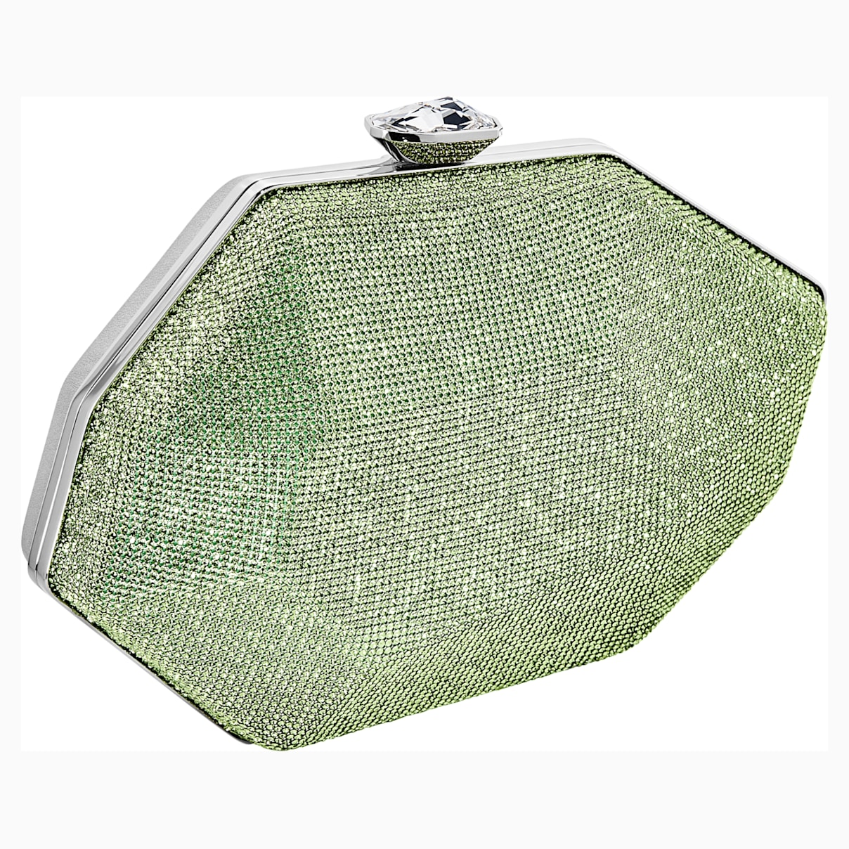 Marina Bag, Green, Palladium plated