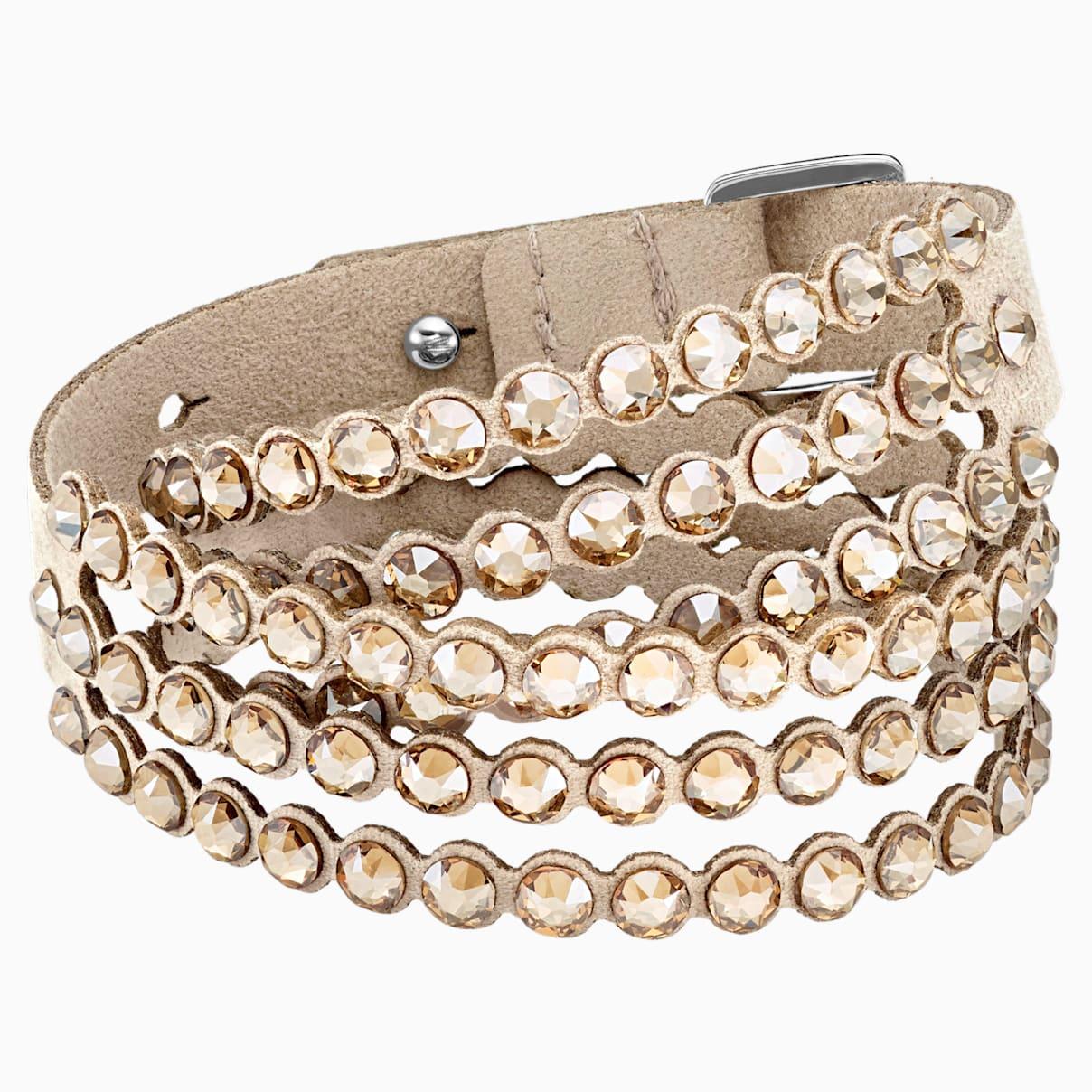 Get the Swarovski Power Collection Bracelet, Beige from Swarovski ...