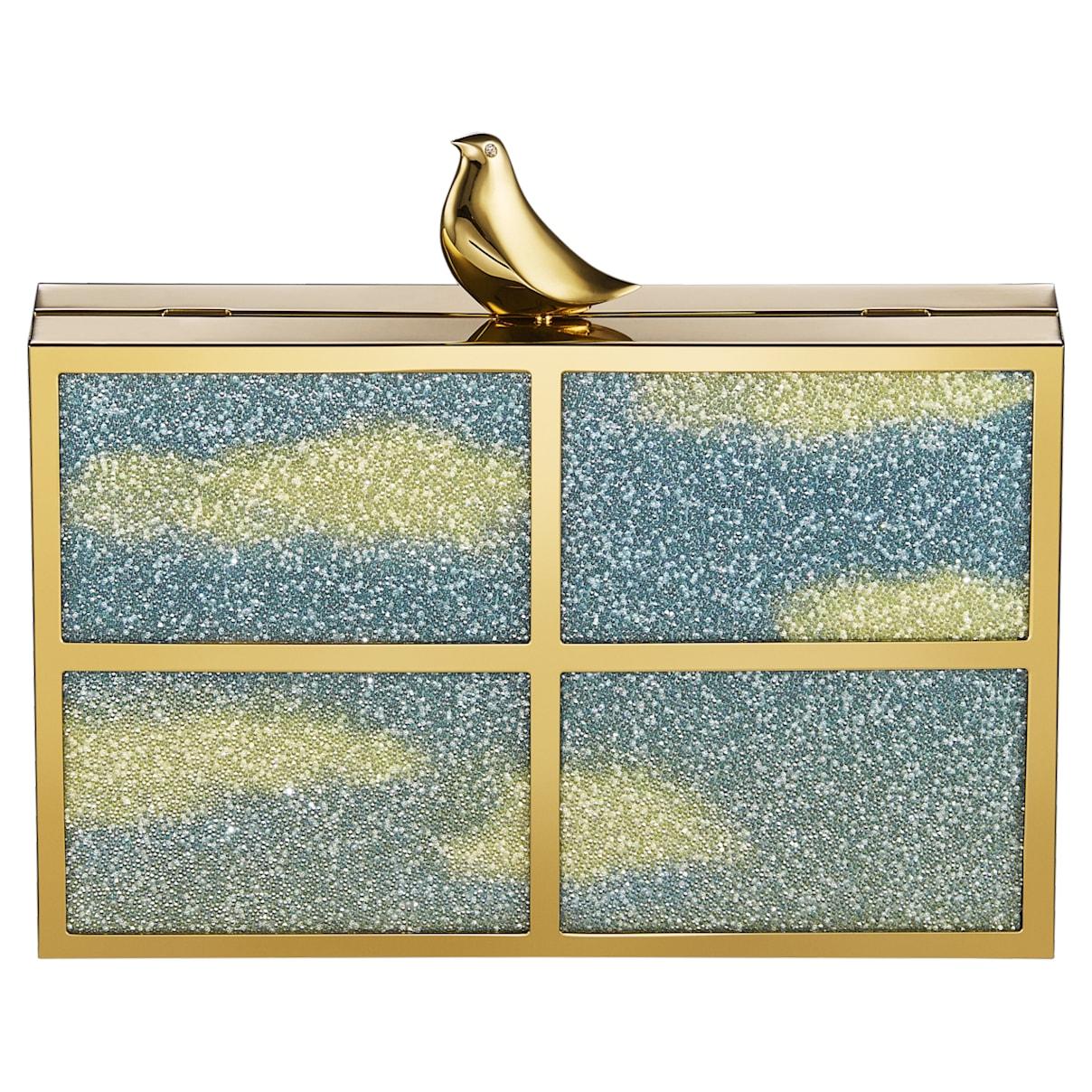 Borsetta Free As A Bird, tono dorato, placcato color oro