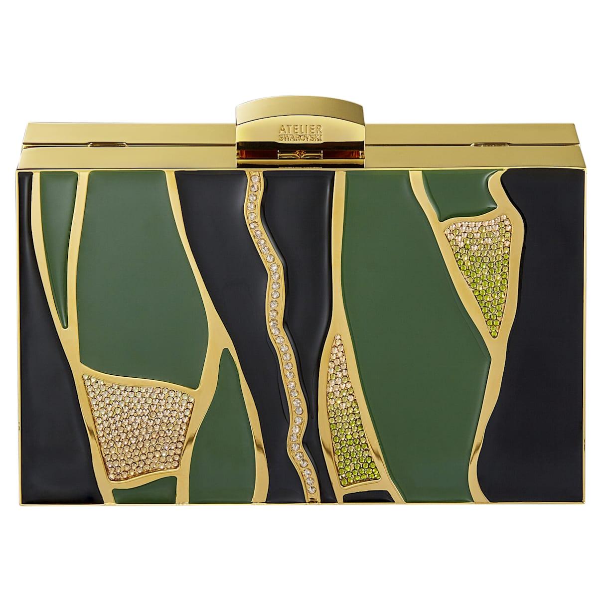 Borsetta Kintsugi, multicolore, placcato color oro