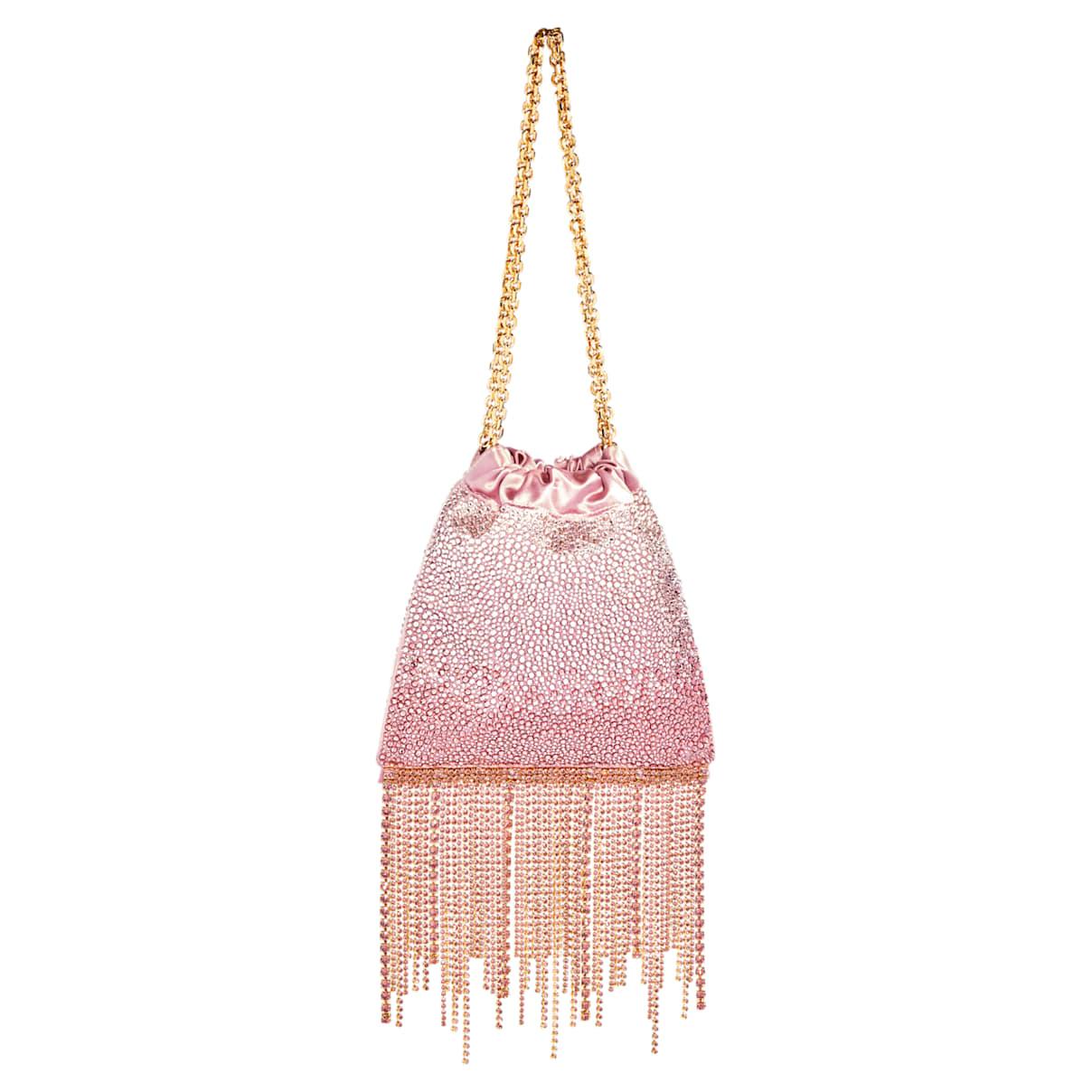 Borsetta Fringe Benefit Hotfix, rosa