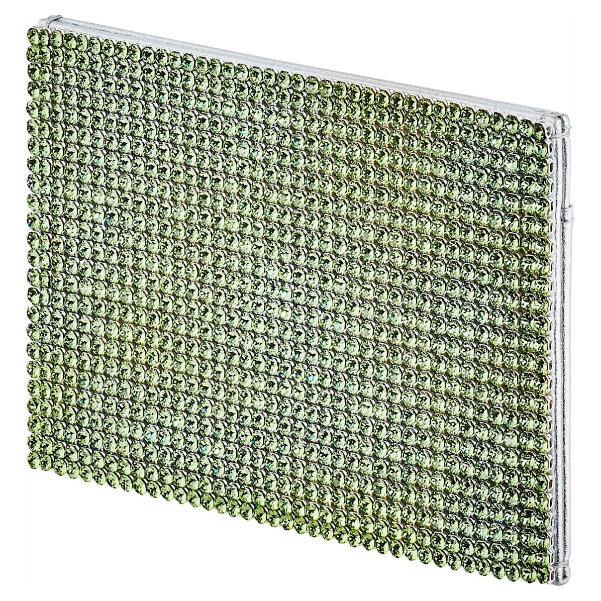 Portacarte Marina, verde, placcato palladio