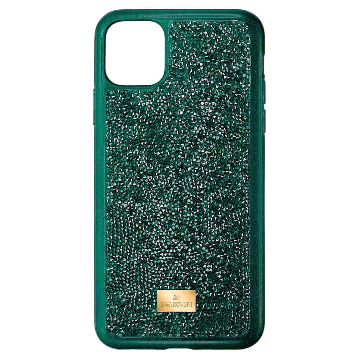 Custodia per smartphone con bordi protettivi Glam Rock, iPhone® 11 Pro Max, verde
