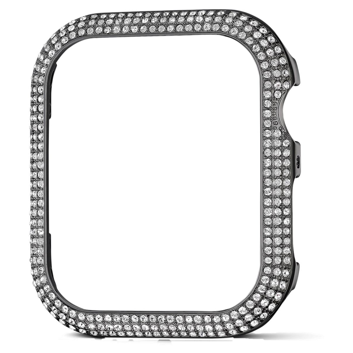 Cover compatibile con Apple Watch ® 40mm Sparkling, nero