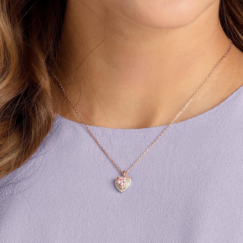 muy agradable Tradicion Típicamente  One Pendant, Multi-colored, Rose-gold tone plated | Swarovski.com