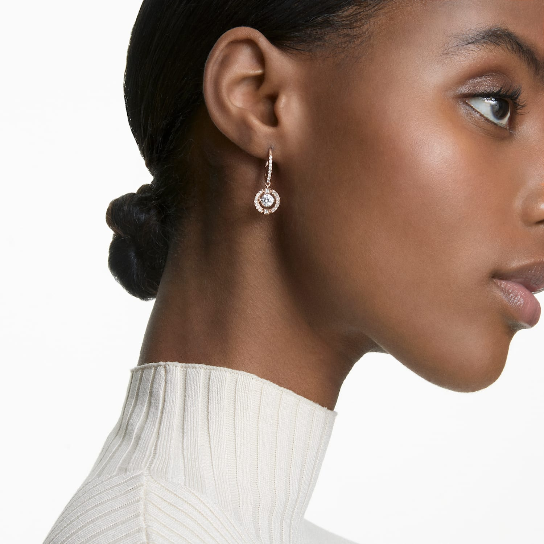 Oval Dancer in Pink Himalayan Salt  statement earrings  fruit earrings  clay earrings  dangle earrings  tutti frutti earrings