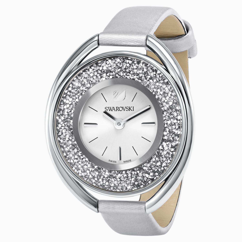 Swarovski Reloj Crystalline Oval, gris