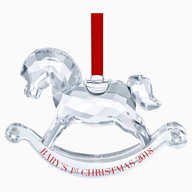 Cavallo A Dondolo Swarovski.Decorazione Il Mio Primo Natale Edizione Annuale 2018 Swarovski Com