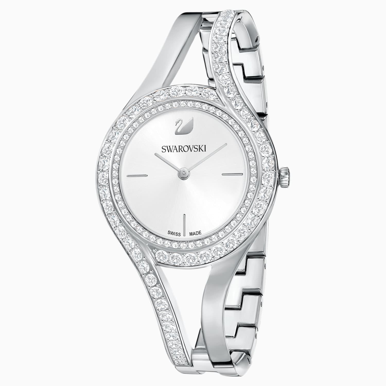 Eternal Watch Metal Bracelet White Stainless Steel Swarovski Com
