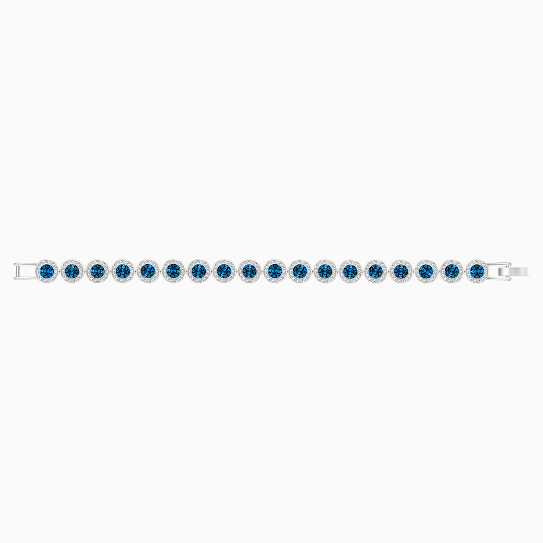 Navy Blue Sparkly Crystal Rhinestone Coated Bangles Set of 4