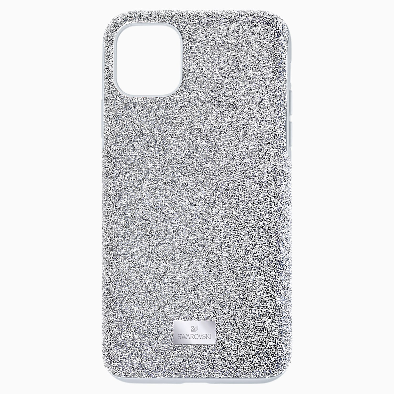 High Smartphone Case Iphone 11 Pro Max Silver Tone Swarovski Com