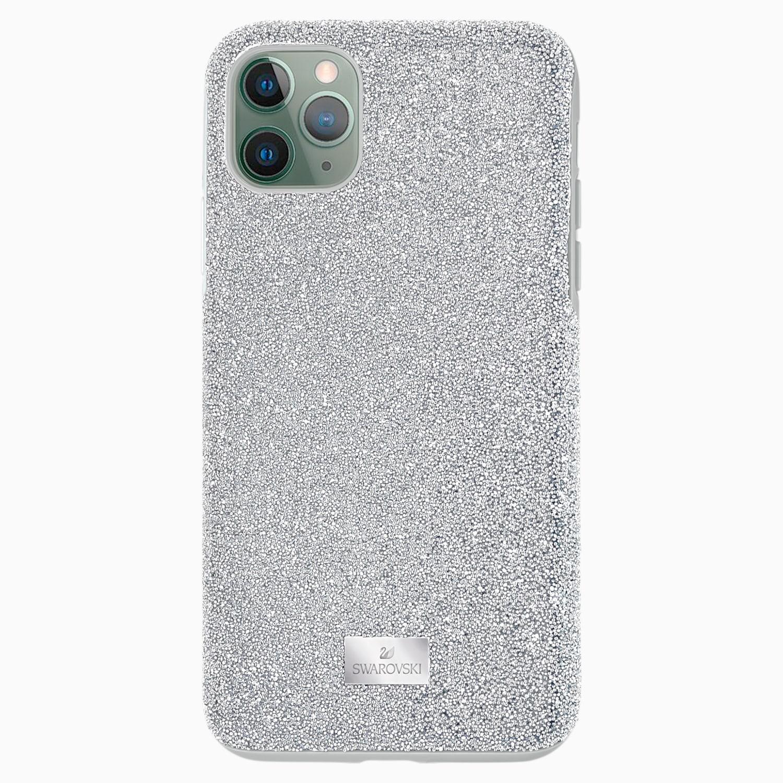 Étui pour smartphone High, iPhone® 11 Pro Max, ton argenté