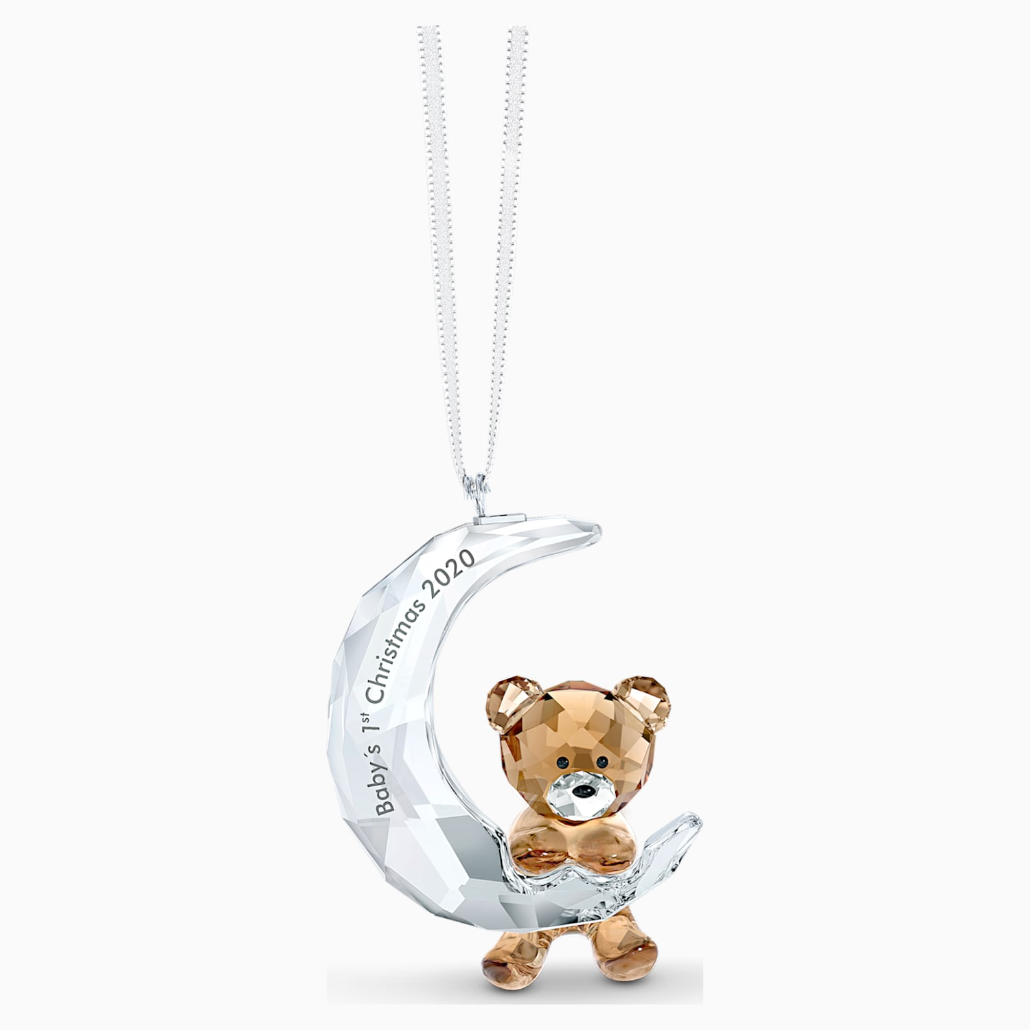 Our First Christmas Picture Ornament 2020 Baby's 1st Christmas Ornament 2020 | Swarovski.com