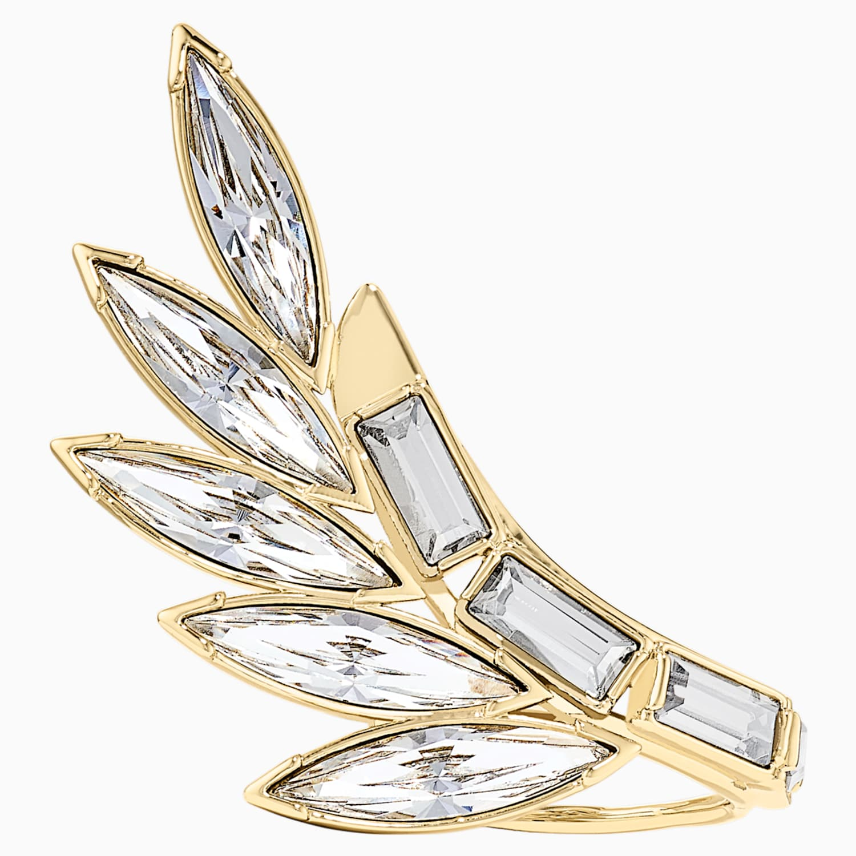 Sótano repentino Asia  Wonder Woman Armour Ring, White, Gold-tone plated | Swarovski.com