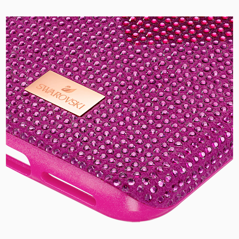 Crystalgram Heart Smartphone Case With Bumper Iphone 11 Pro Max Pink Swarovski Com