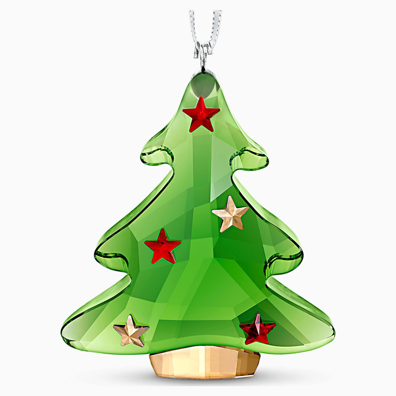 Swarovski Decorazioni Natalizie.Decorazione Albero Di Natale Verde Swarovski Com