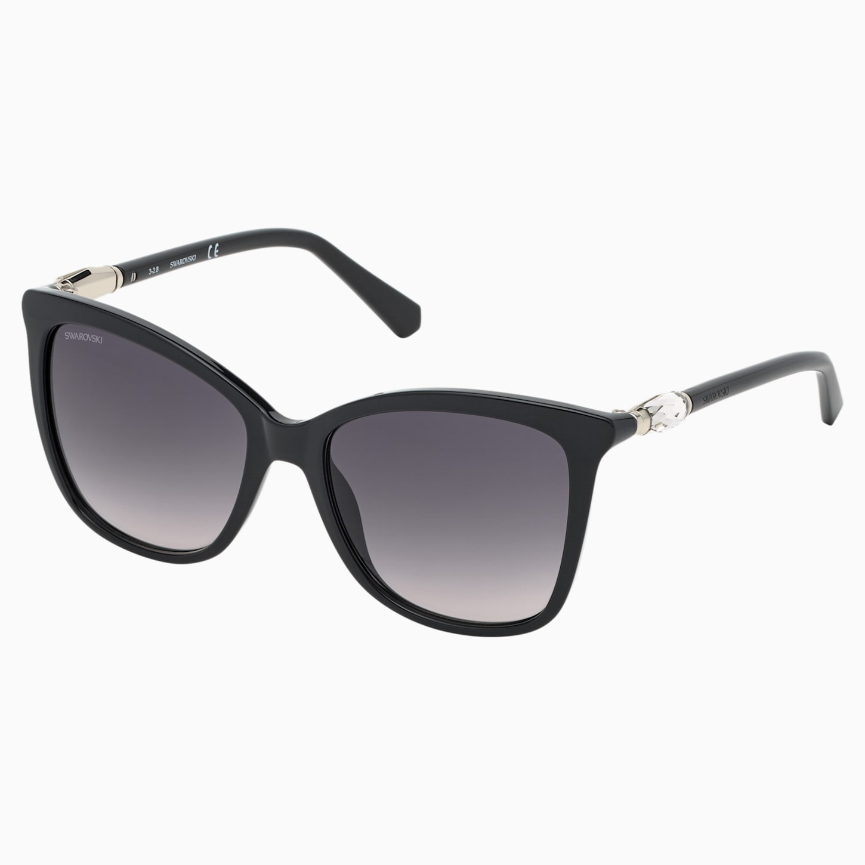 Swarovski Sunglasses, SK0227 01B, Black