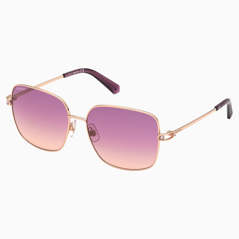 Swarovski Sunglasses, SK0313 28T, Purple