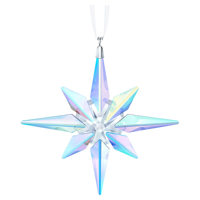 Swarovski Christmas Ornament 2021 Star Ornament Crystal Ab Swarovski Com