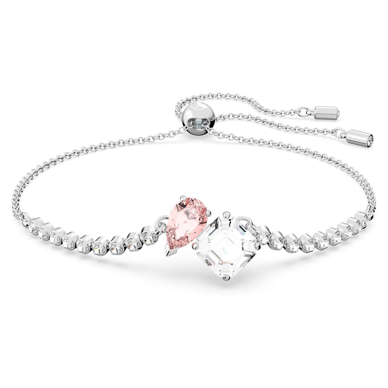 Bracelet Attract Soul, rose, métal rhodié