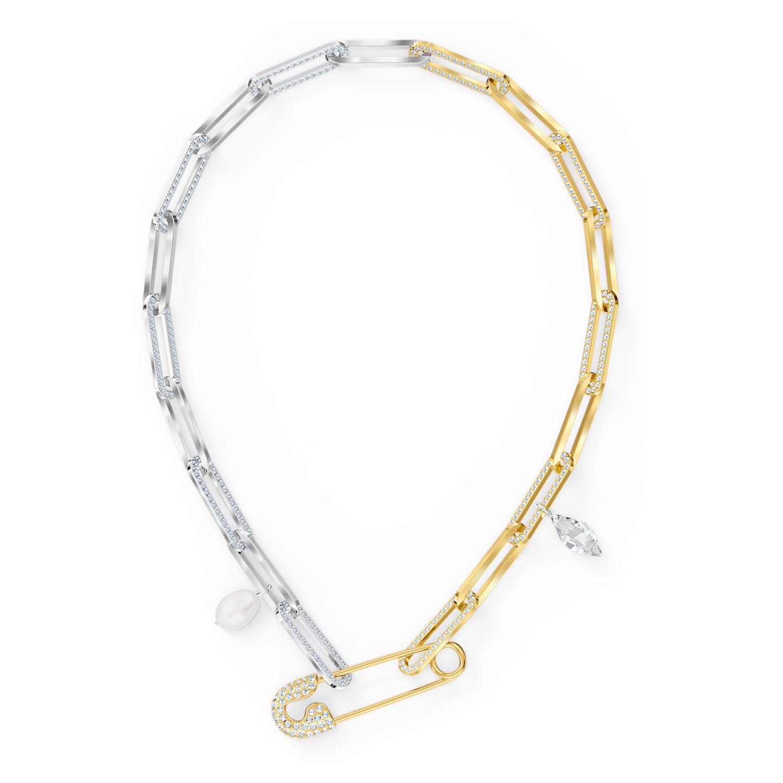 Bracelet So Cool Chain, blanc, finition mix de métal