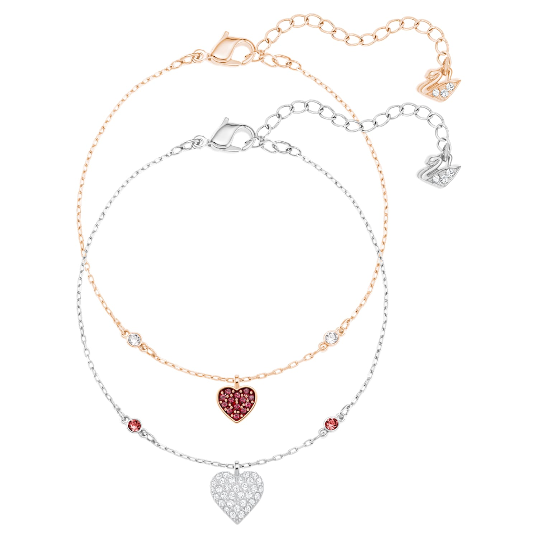 Set 6 Christmas Card Wish String Gift Vintage Wreath Choice of Charm Bracelet Y60 WHITE