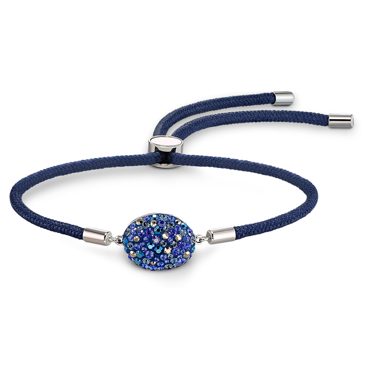 Bracelet Swarovski Power Collection Water Element, bleu, acier inoxydable