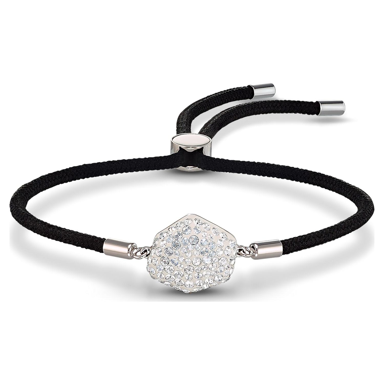 Bracelet Swarovski Power Collection Air Element, noir, acier inoxydable