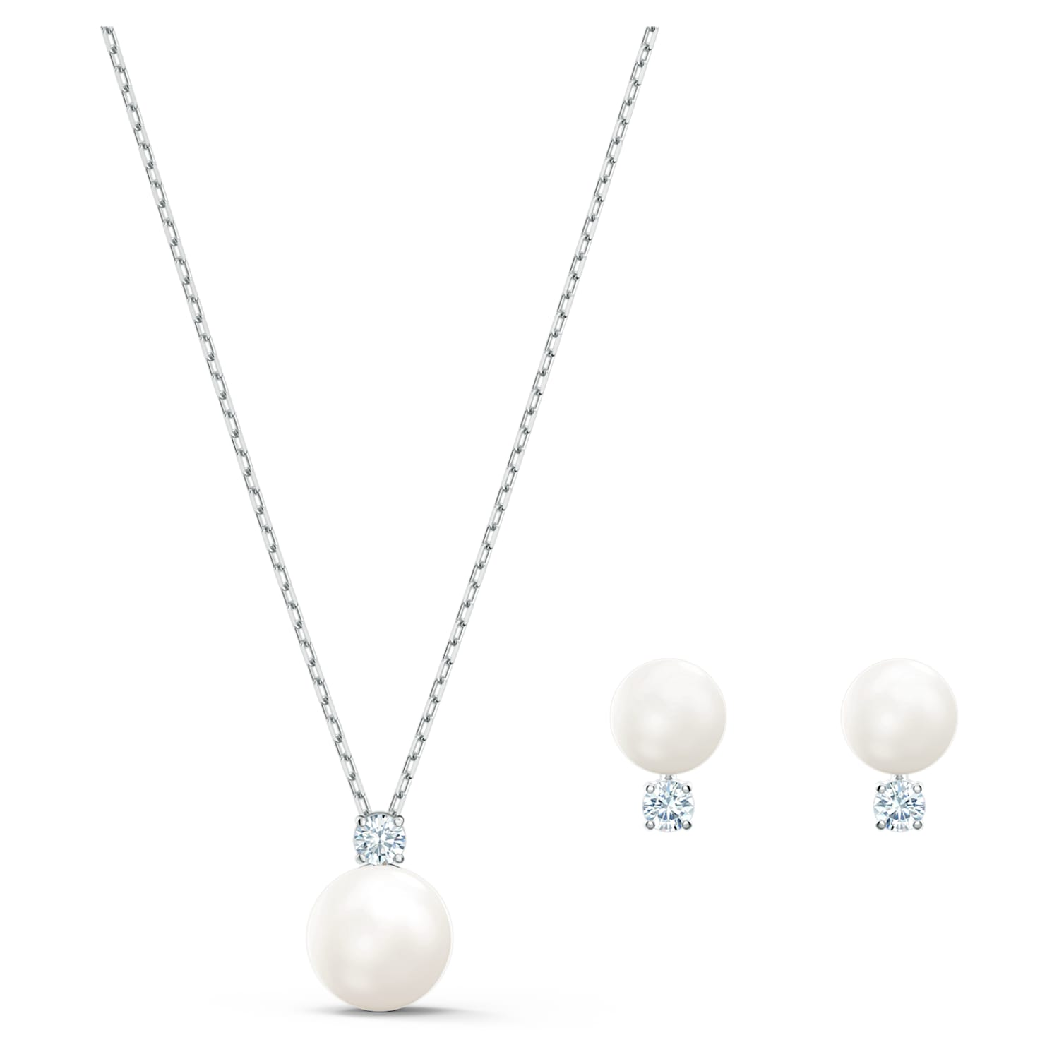 in white Pearl set
