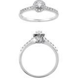 18K金钻石戒指 - Swarovski, 5009631