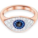 Swarovski Symbolic Evil Eye 戒指, 彩色设计, 镀玫瑰金色调 - Swarovski, 5441202