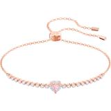 One 手链, 彩色设计, 镀玫瑰金色调 - Swarovski, 5446299