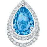 纯真之恋18K粉蓝托帕石钻石链坠 - Swarovski, 5468517