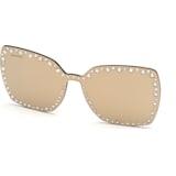 Swarovski 扣式遮光镜片,太阳眼镜适用, SK5330-CL 32G, 咖啡色 - Swarovski, 5483809