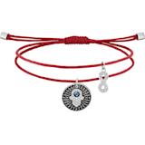 Unisex Hamsa Hand 手链, 彩色设计, 不锈钢 - Swarovski, 5504682
