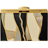 Gilded Treasures Çanta, Koyu renkli, Altın rengi kaplama - Swarovski, 5534857
