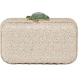 Mustique Sea Life Turtle Bag, Beige, Gold-tone plated - Swarovski, 5534872