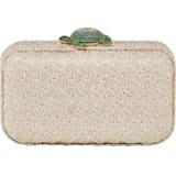 Mustique Sea Life Turtle Tasche, beige, vergoldet - Swarovski, 5534872