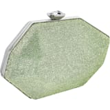 Bolso Marina, verde, baño de paladio - Swarovski, 5535448