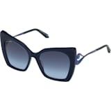 Okulary przeciwsłoneczne Tigris, SK0271-P 90W, niebieskie - Swarovski, 5535793