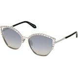 Okulary przeciwsłoneczne Fluid, SK0274-P-H 16C, szare - Swarovski, 5535795