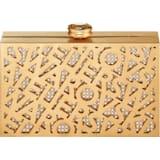 Koronkowa torba z logo, odcień złoty, powlekana złotem - Swarovski, 5535911