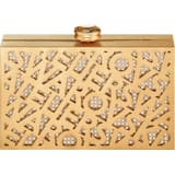 Logo Lace Bag, Gold tone, Gold-tone plated - Swarovski, 5535911