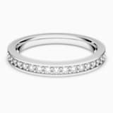 Rare gyűrű, fehér, ródium bevonattal - Swarovski, 1121069